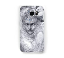 Fairy lady with white peacocks. Samsung Galaxy Case/Skin