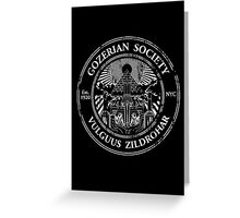 Gozerian Society Greeting Card