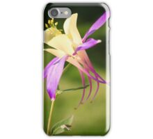 Aquilegia Columbine iPhone Case/Skin