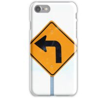 Left Hand Turn Signal iPhone Case/Skin