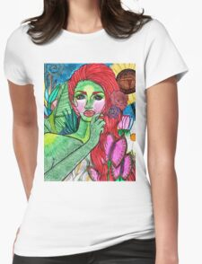 Mother Nature(ish) Womens Fitted T-Shirt