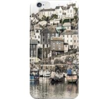 Boats Parked Up for the Night - Cornwall iPhone Case/Skin