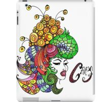 Crazy Colourful Hair Day iPad Case/Skin
