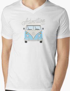 Adventure Awaits (blue) Mens V-Neck T-Shirt