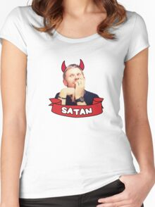 Supernatural - Lucifer! Women's Fitted Scoop T-Shirt