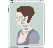 Claire Fraser Quote Variant iPad Case/Skin