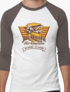 McQuack Air Charters Men's Baseball ¾ T-Shirt