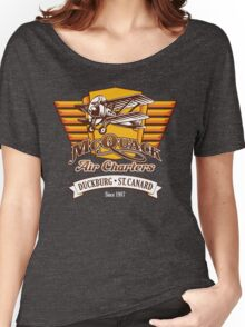 McQuack Air Charters Women's Relaxed Fit T-Shirt