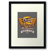 McQuack Air Charters Framed Print