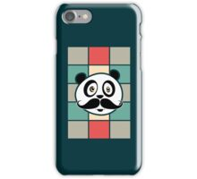 Mustache Panda iPhone Case/Skin