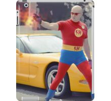 super hero fire iPad Case/Skin