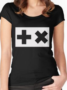 Martin Garrix - Logo Wide Women's Fitted Scoop T-Shirt