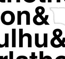 Azathoth&... (Alternate Black Version) Sticker