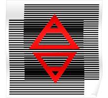 Air&Earth (AV) Striped Poster