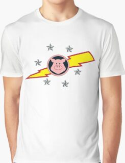 Pigs in Space Graphic T-Shirt