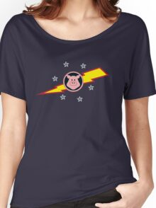 Pigs in Space Women's Relaxed Fit T-Shirt