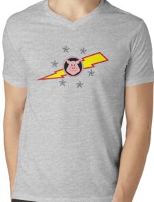 Pigs in Space Mens V-Neck T-Shirt