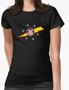 Pigs in Space Womens Fitted T-Shirt