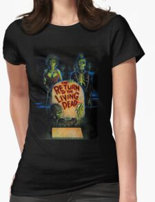 Return of the Living Dead Womens Fitted T-Shirt