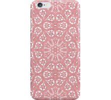 Pink Lace Pattern iPhone Case/Skin