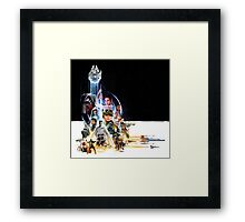 Star Wars VII and Rogue One Framed Print