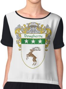 Dougherty Coat of Arms/Family Crest Chiffon Top