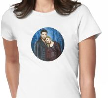 Captain Swan Comic Poster Logoless Design Version 2 Womens Fitted T-Shirt