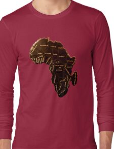 Africa the most beautiful continent Long Sleeve T-Shirt