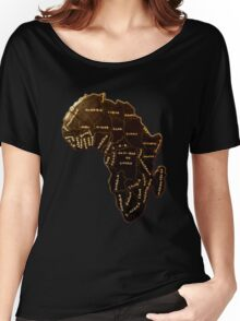 Africa the most beautiful continent Women's Relaxed Fit T-Shirt