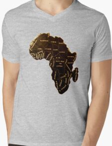 Africa the most beautiful continent Mens V-Neck T-Shirt