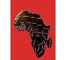 Africa the most beautiful continent Photographic Print