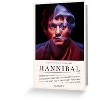 Hannibal - Season 1 Greeting Card