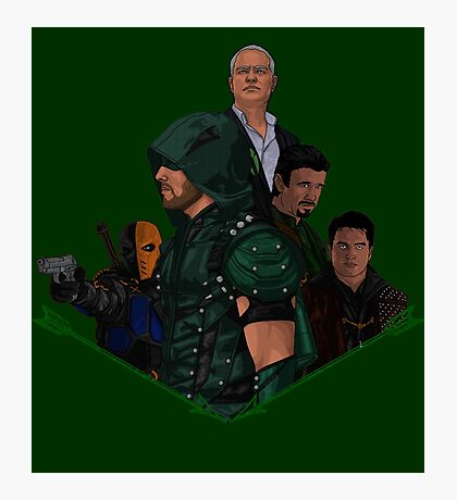 Arrow Season 1-4 Photographic Print