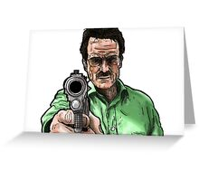 Breaking Bad - Walter White (Colour) Greeting Card