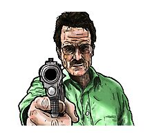 Breaking Bad - Walter White (Colour) Photographic Print