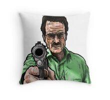 Breaking Bad - Walter White (Colour) Throw Pillow