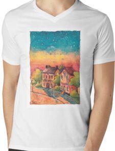 Post Office Mens V-Neck T-Shirt