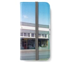 Storefronts, Jennings, Louisiana iPhone Wallet/Case/Skin