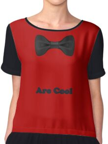 Baby Bow Tie - Jumpsuit - T-Shirt - Are Cool - Clothing Sticker Chiffon Top
