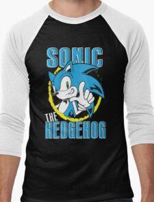 Sonic The Hedgehog Men's Baseball ¾ T-Shirt