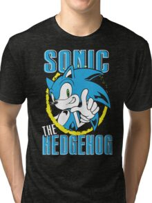 Sonic The Hedgehog Tri-blend T-Shirt