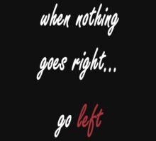 Go left by YellowLion