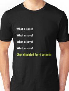 Rocket league - What a save! Unisex T-Shirt