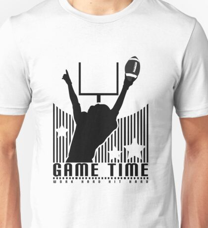 Game Time - Football (Yellow) Unisex T-Shirt