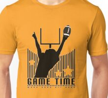 Game Time - Football (Orange) Unisex T-Shirt