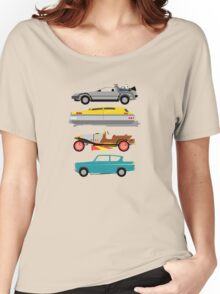 The Car's The Star: Flying Cars Women's Relaxed Fit T-Shirt