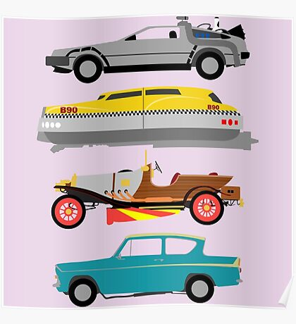 The Car's The Star: Flying Cars Poster