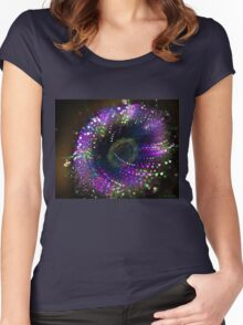 Dreamland flower Women's Fitted Scoop T-Shirt