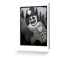 John Wayne Gacy - Pogo The Clown Greeting Card