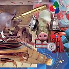 Another Incredible Collage (exhibition work) by Andreav Nawroski